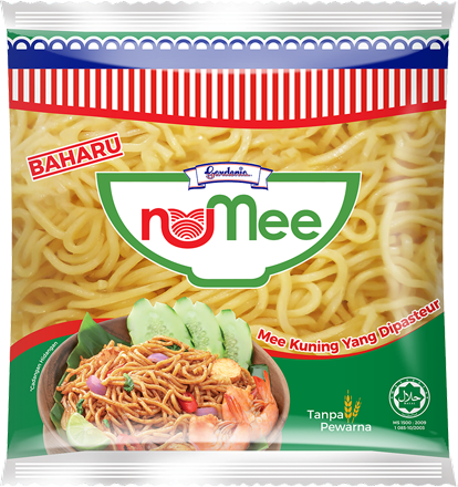 New yellow noodles by Gardenia